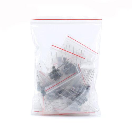 20 Ohm 3W Carbon Film Resistor Assortment Kit 5/% 15 Values //75pcs 0.1 Ohm
