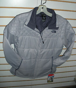 THE-NORTH-FACE-WOMENS-RED-SLATE-JACKET-STYLE-C644-DAPPLE-GREY-MEDIUM