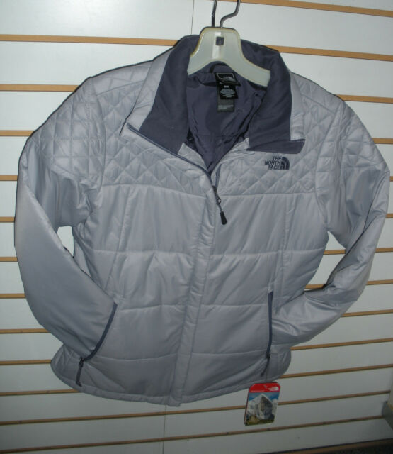 THE NORTH FACE WOMENS RED SLATE JACKET- STYLE C644- DAPPLE GREY- MEDIUM