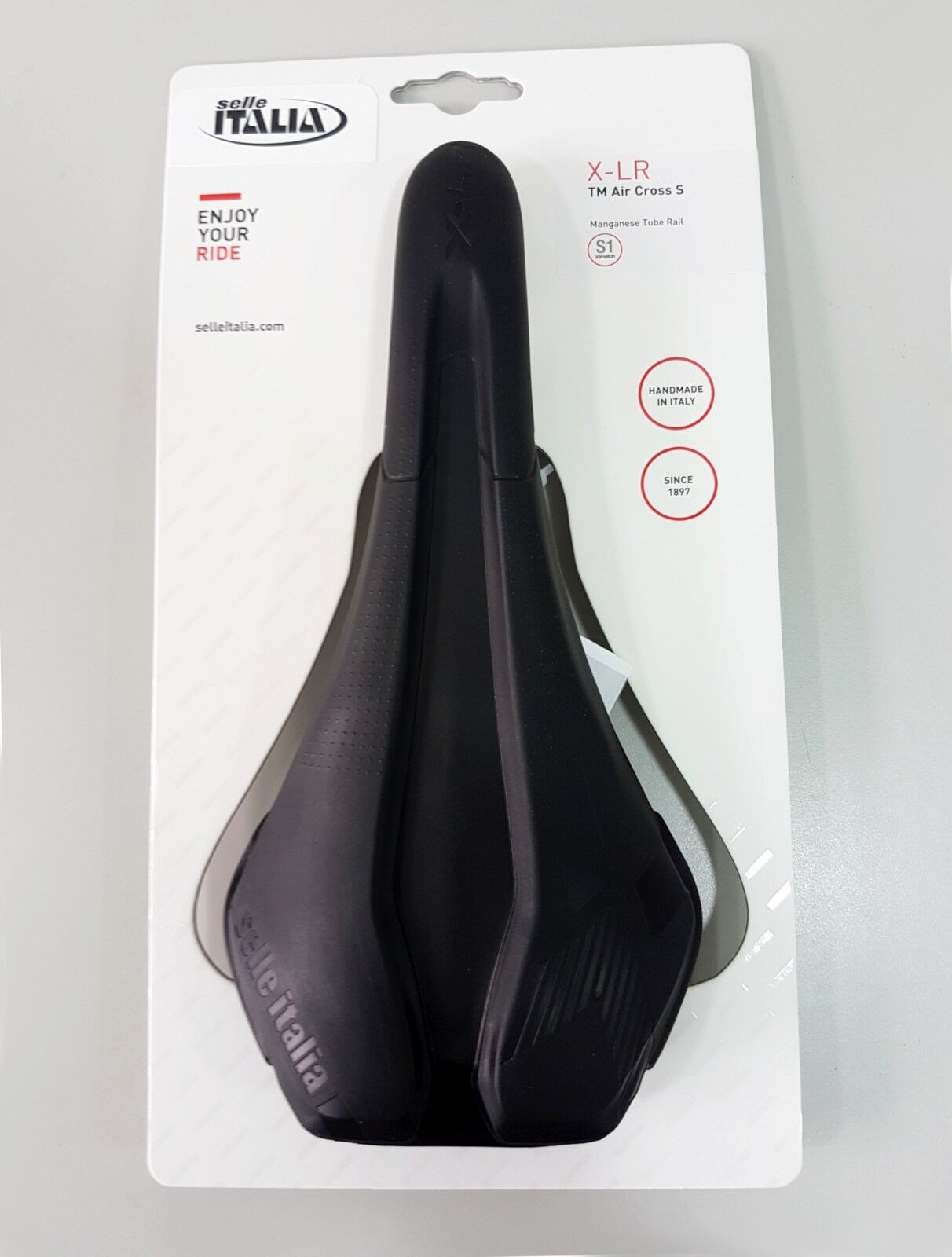 Selle Italia X-LR TM Air Cross S1 131x266 Manganese Tube Ø7mm Rail Saddle
