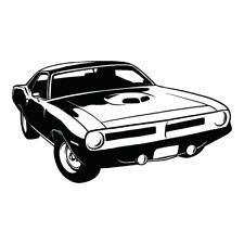 1970 Plymouth Hemi Cuba Clipart Vector Clip Art Graphics Dxf Svg Eps Ai Png Pdf