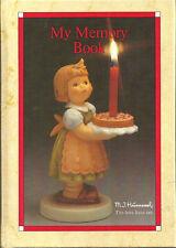 Goebel Collectors Club Blank Journal Book Small Unused Mj Hummel Theme 1986