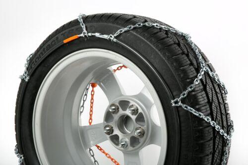 Car1 Compact Grip Rud cadenas de nieve 215//55r16 205//60r16 225//40r18 protección de la llanta