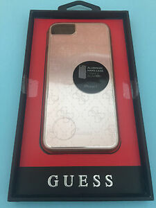GUESS-4G-METALLIC-HARCOVER-HARD-CASE-FOR-APPLE-IPHONE-7-4-7-034-ALUMINIUM-PINK