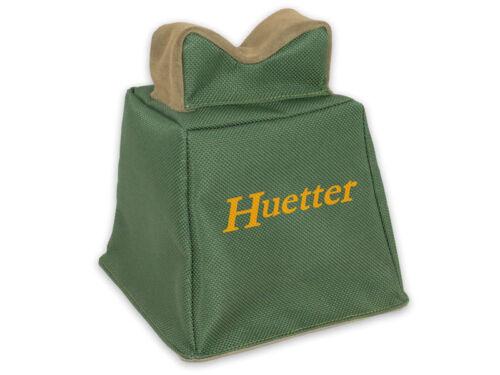 sandbag green Hunters Shooting Bag Cordura /& Velour Leather Rifle Bench Rest