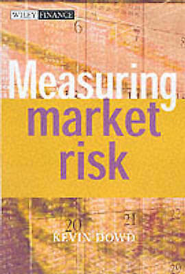 Measuring Market Risk (The Wiley Finance Series), Dowd, Kevin, Used; Good Book