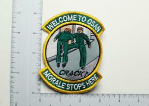 U-S-Air-Force-Welcome-To-Osan-034-Morale-Stops-Here-034-Patch