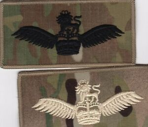 LATEST-British-ARMY-AIR-CORPS-GLIDER-PILOT-WINGS-MULTICAM-MTP-BLACK