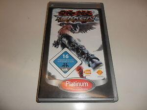 PLAYSTATION-PORTABLE-PSP-Tekken-DARK-Resurrection-PLATINUM