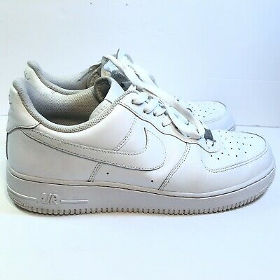 Nike Air Force 1 '07 Low, 315122-111 White Men's Size 11 Pre Owned | eBay
