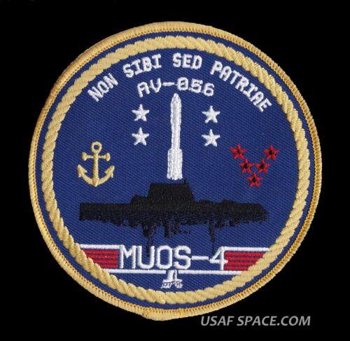 MUOS-4 ATLAS V AV-056 ORIGINAL USAF DOD SATELLITE Launch SPACE PATCH