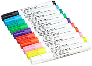 10-Beleduc-Textilstifte-Stoffmalstifte-Textilmarker-Stoffmaler-Stoffmarker-malen