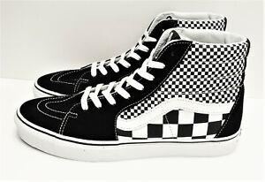 Vans SK8 Hi Mix Checker Black True