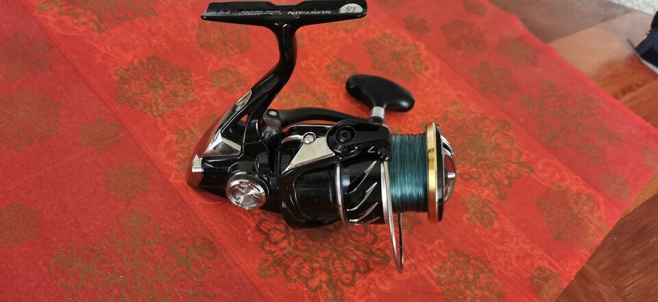 Fastspolehjul, Shimano sustain c3000hg