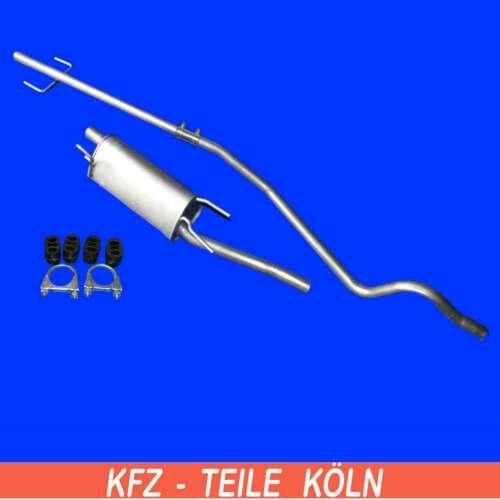 endschalldämpfer 1.3 CDTI 16v-fondos tubo Opel Combo//Corsa C