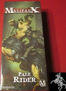 Details about Malifaux 2E WYR20120 The Guild Pale Rider (1) Miniature  Mounted Undead Horseman