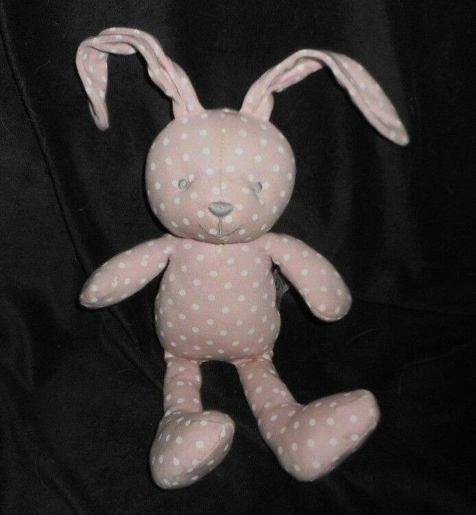 12   Marks Rosa & Spencer Rosa Marks Weiß Gepunktet Kaninchen Plüschtier Spielzeug 0db352