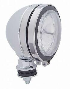 "5"" Round Off Road Halogen Tear Drop Chrome Work Spot Light / 55 Watt / 12V"