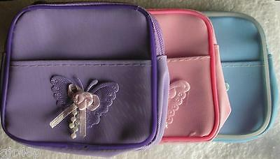 Top Notch Fashions Pink Purple Blue Girls Mini Butterfly Purses With Hair Bands