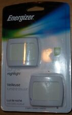 (2) Energizer Night Light Soft Glow LED Security Hallway Ultra Slim  ENLPLUFP2