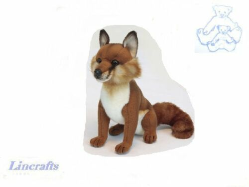 Hansa Sitting Small Fox 2826 Plush Soft Toy Sold by Lincrafts Established 1993
