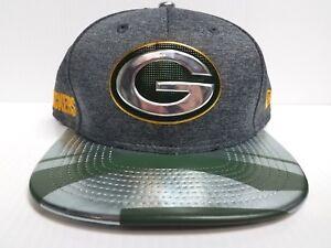 Green Bay Packers Cap New Era 9Fifty Snapback Gray 2017 NFL Draft ... 0fea7a044c7e
