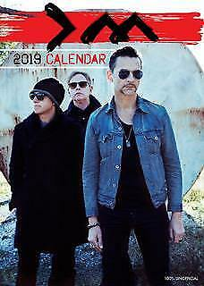 DEPECHE MODE CALENDAR 2019 LARGE A3 WALL POSTER SIZE NEW SEALED BY OC CALENDARS