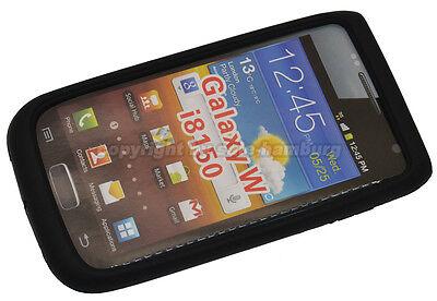 Samsung Galaxy W  / GT i8150 Silikon Case Tasche Hülle Handytasche Bag