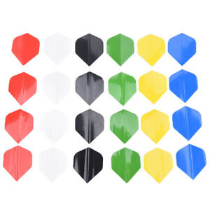 50pcs-Pure-Color-Dart-Wing-Tail-Professional-PET-Darts-Flight-Dart-AccessoriesSE