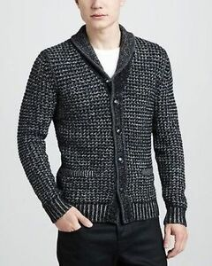 685188b52 NWT RAG & BONE NEIMAN MARCUS TARGET Cardigan Sweater Gray & Black ...