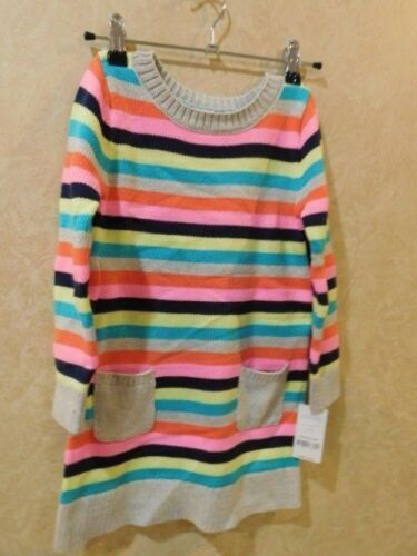 2T NWT Carter/'s Baby Toddler Girls Knit Striped Sweater Dress 9M//12M//24M /_R15E2