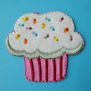 Ice-Cream-Cake-Dissert-Food-Iron-On-Sew-Embroidered-Badge-Patch-Cute-Baby-Kid