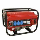 Generador Eléctrico Monofasico y Trifasico 5500W - Rojo