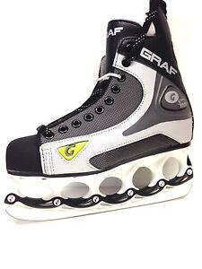 GRAF-1001-103-t-blade-Eishockey-Schlittschuhe-mit-t-blade-Kufensystem-Gr-47