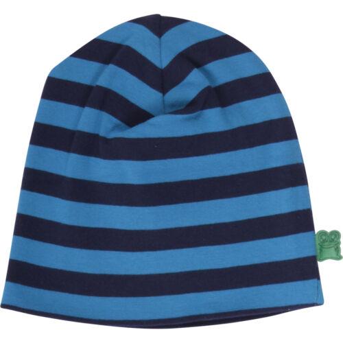 Green Cotton garçons Bonnet Beanie Bleu taille 68//74 80//86 92//98 116//122 128//13