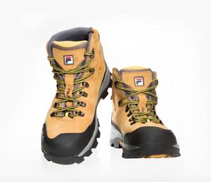 FILA Totalmente nuevo Zapatos Seguridad F-69 cremallera botas de trabajo nos Puntera De Acero M 7-10.5