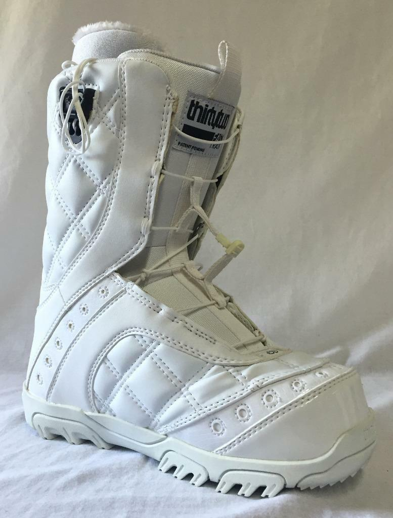 Thirty Two Women's Prion FT Snowboard Boots color White Size US 7 NEW