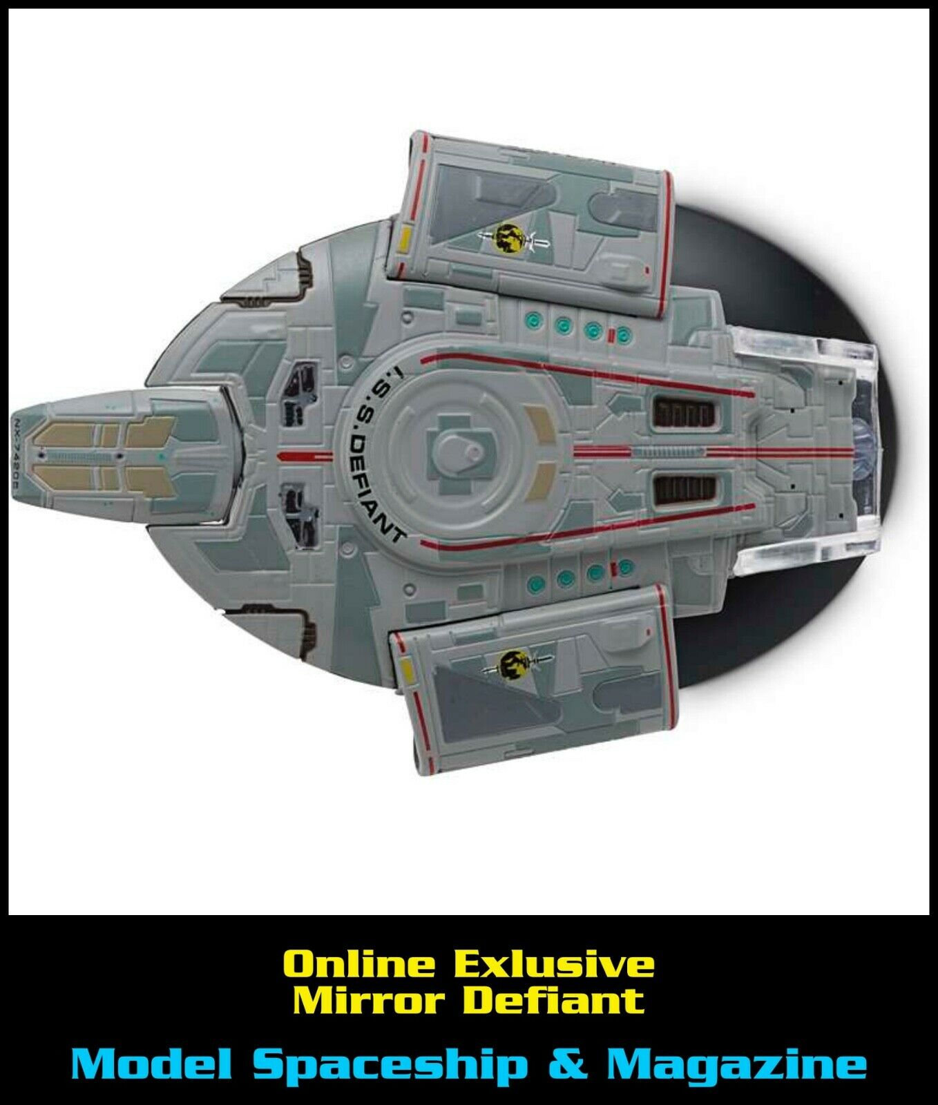 Issue M3 ISS Defiant (Mirror Universe)