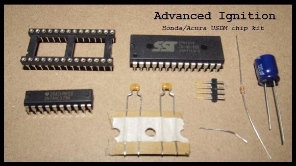 Honda ECU Chip Kit + Custom Basemap  P06 P05 P28 P30 P72 P75