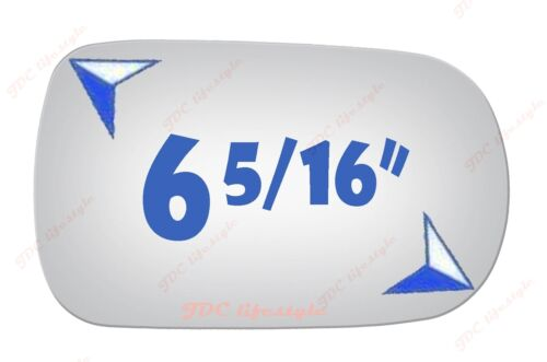 NEW fit 91-96 G20 89-94 240SX Maxima 90-96 300ZX Passenger RH Mirror Glass#3154