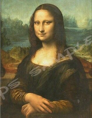 "Mona Lisa smoking a joint Fridge Magnet Collectible Size 2.5/"" x 3.5/"""