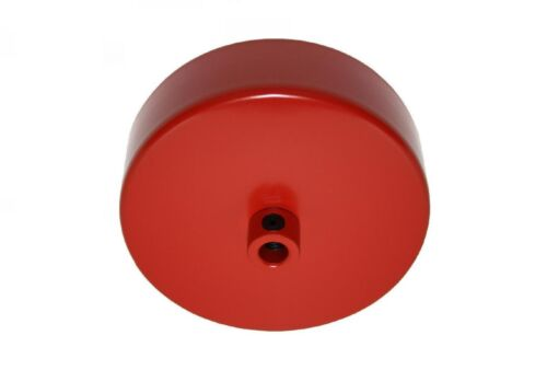 Lampes Rosace Plafond 80x25 rouge avec zugentlaster Décoration-Rosace Plafond également pour câbles Textile