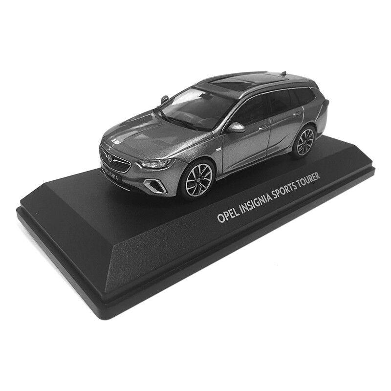 Opel Insignia B GSI Sportstourer 1 1 1 43 maqueta de coche, combi, Caravan, luz gris, nuevo 8c91b1