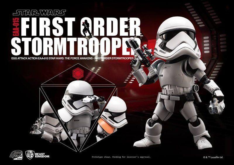 Ataque de huevo EAA-015 Estrella Wars Stormtrooper 6  Figura de Acción de primer orden