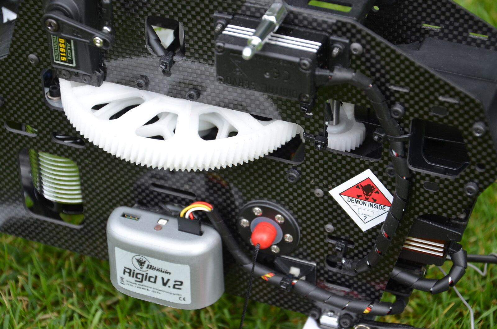Helicommand Rigid V2 3-achs Flybarless System of Autopilot Bavarian Demon