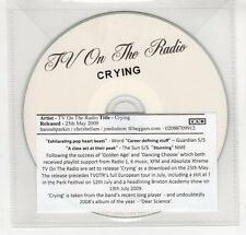 (GN998) TV On The Radio, Crying - 2009 DJ CD