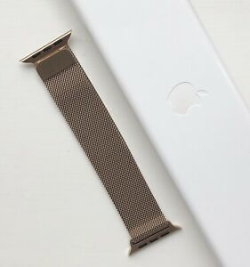 Genuine-New-Apple-Watch-Stainless-Gold-Milanese-Loop-44-42-mm