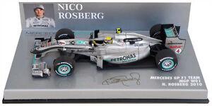 Minichamps Mercedes Gp F1 W01 2010 - Nico Rosberg Echelle 1/43 4012138102699