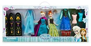 Disney Store Frozen Elsa Amp Anna Fashion Doll Gift Set W