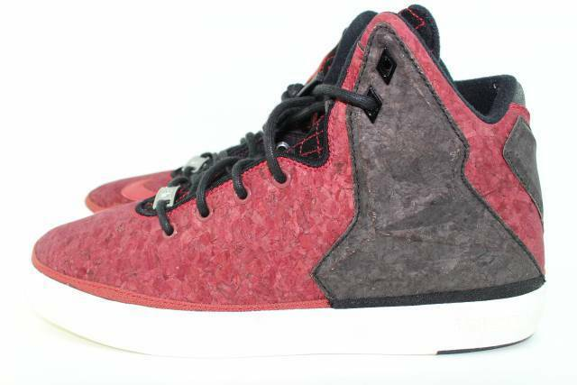 LEBRON 9.0 XI NSW LIFESTYLE RED CORK MEN Size: 9.0 LEBRON RARE NEW AUTHENTIC a8a28c